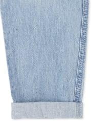 Girls Denim Jogger Jeans