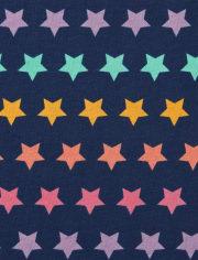 Pack de 2 camisetas de tirantes Rainbow Star para niñas