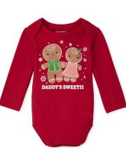 Baby Girls Sweetie Graphic Bodysuit