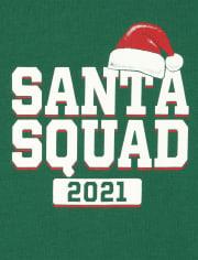 Unisex Baby Matching Family Santa Squad Graphic Bodysuit