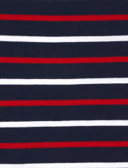 Boys Striped Top 4-Pack