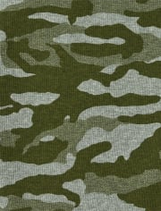 Boys Camo Striped Thermal Top 3-Pack