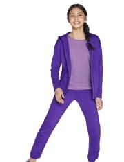 Girls Fleece Jogger Pants