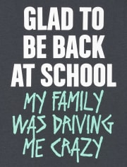 Boys Back At School Graphic Tee