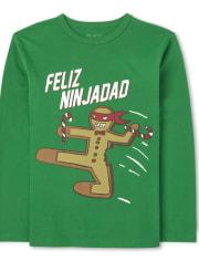 Boys Feliz Ninjadad Graphic Tee