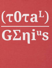 Boys Total Genius Graphic Tee
