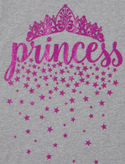 Girls Princess Graphic Tee