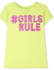 Girls Girls Rule Graphic Tee