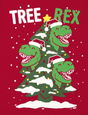 Baby and Toddler Boys Tree Rex Graphic Tee