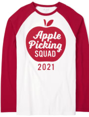 Unisex Adult Matching Family Apple Picking Graphic Tee
