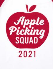 Unisex Toddler Matching Family Apple Picking Graphic Tee