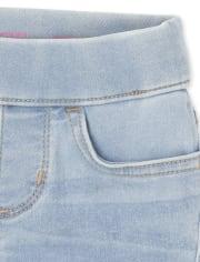 Paquete de 3 jeans con leggings para niñas