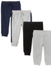 Baby Boys Pants 4-Pack