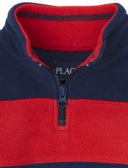 Toddler Boys Colorblock Glacier Fleece Half Zip Pullover