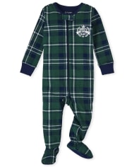 Baby And Toddler Boys Best Kid Snug Fit Cotton One Piece Pajamas