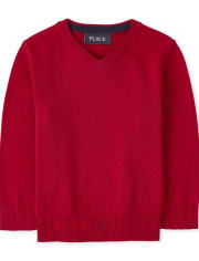 Baby And Toddler Boys V Neck Sweater