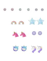 Girls Magic Earrings 9-Pack