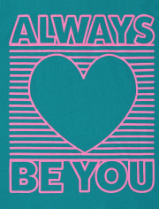 Girls Be You Graphic Tee