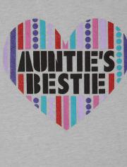Girls Auntie Graphic Tee
