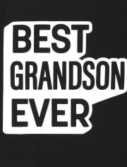 Camiseta estampada Family Grandson para niños