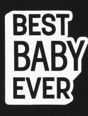 Body unisex con estampado de bebé de la familia a juego para bebés