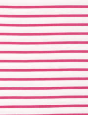 Baby And Toddler Girls Striped Top 2-Pack