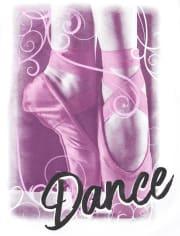 Girls Unicorn Dance Graphic Tee 2-Pack