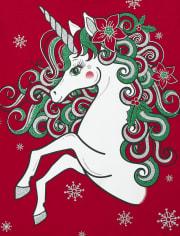 Girls Christmas Graphic Tee 3-Pack