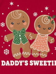 Toddler Girls Christmas Graphic Tee 2-Pack
