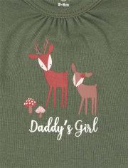 Baby Girls Mix And Match Deer 6-Piece Set