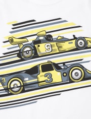 Boys Dino And Racecar Graphic Tee 2-Pack