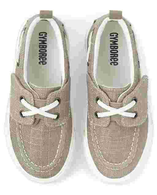 Boys Boat Shoes - Summer Safari
