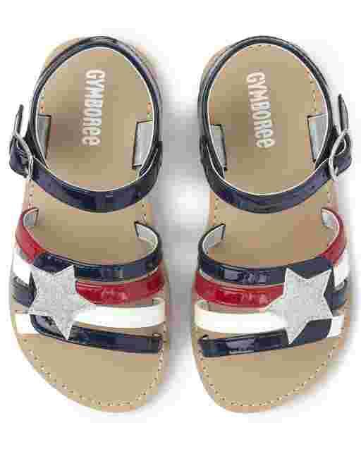 Girls Star Sandals - American Cutie