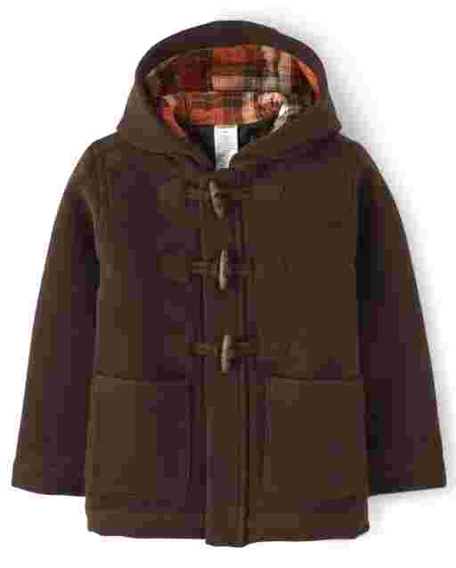 Boys Long Sleeve Toggle Jacket - Harvest