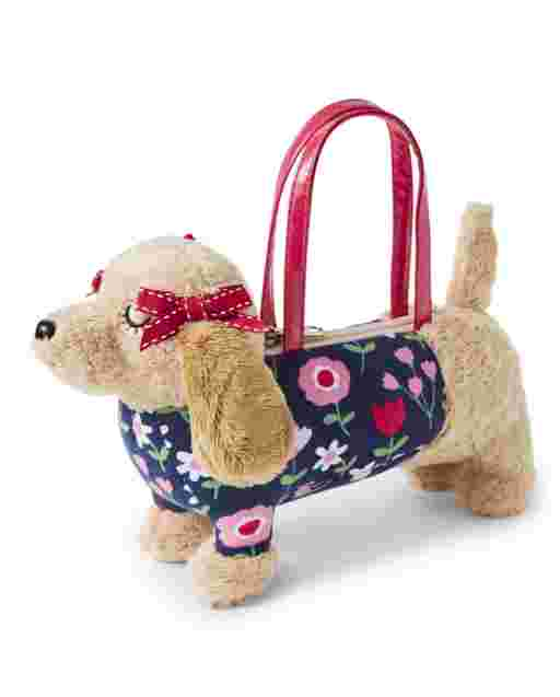 Girls Dog Bag - Preppy Puppy