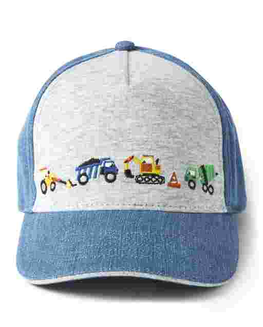 Boys Construction Baseball Hat - Demolition Dude