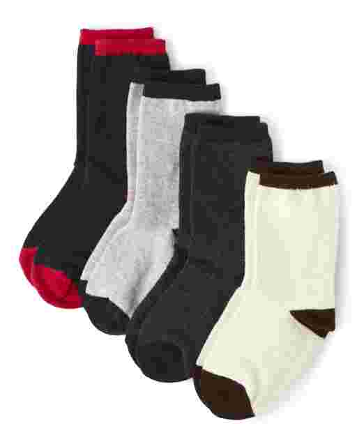 Boys Crew Socks 4-Pack - Every Day Play