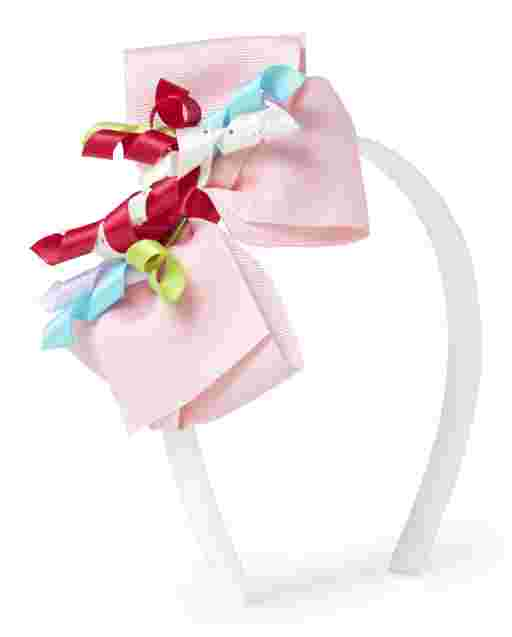 Girls Bow Headband - Birthday Boutique