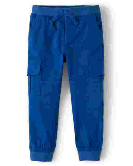 Boys Twill Pull-On Cargo Pants - Demolition Dude