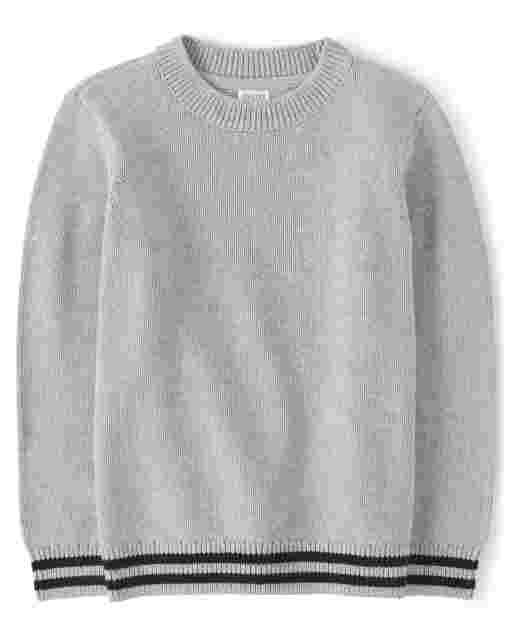 Suéter con ribete de manga larga para niños - Every Day Play