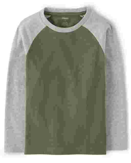 Boys Long Raglan Sleeve Top - Every Day Play