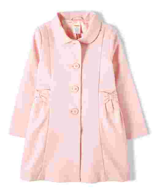 Girls Long Sleeve Dressy Coat - Garden Party