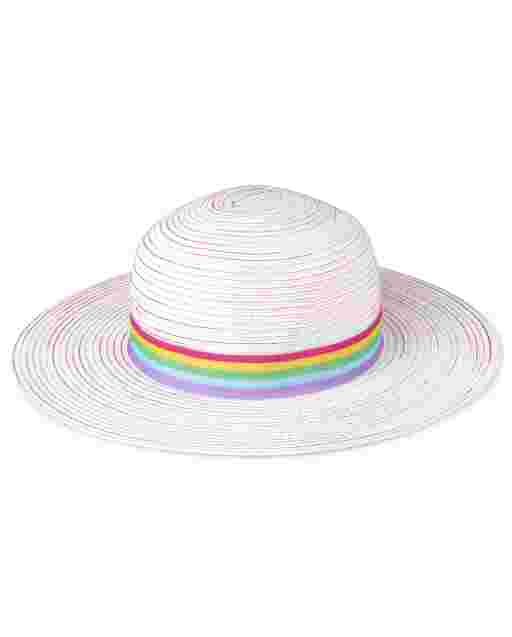 Girls Rainbow Sun Hat - Sunshine Time