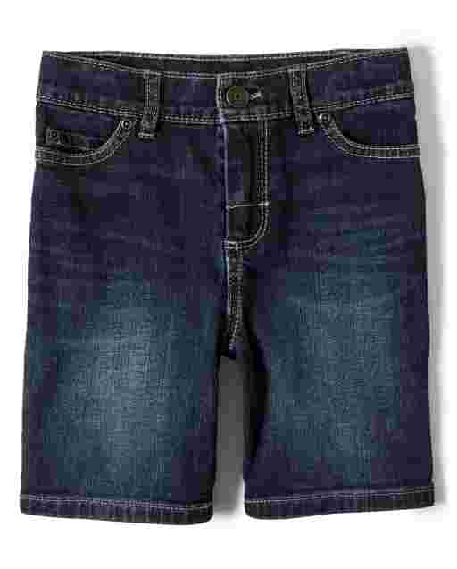 Boys Stretch Denim Shorts