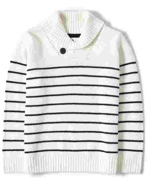 Suéter náutico a rayas de manga larga para niño - All Aboard