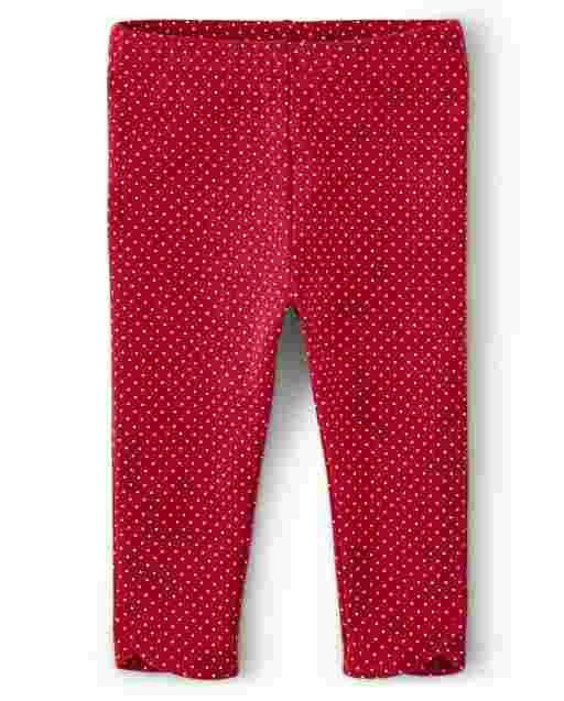 Girls Watermelon Print Knit Capri Leggings - Sweet Watermelon