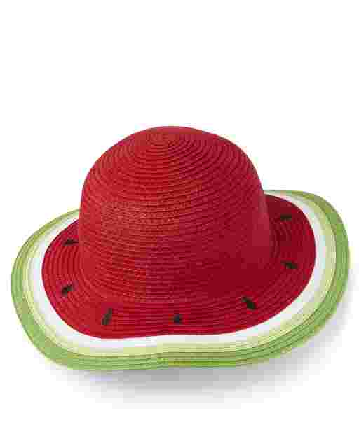 Girls Watermelon Sun Hat - Sweet Watermelon