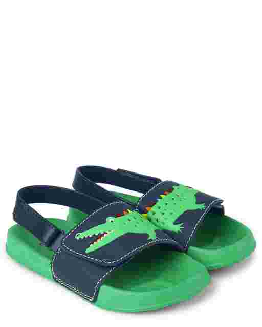 Boys Alligator Slides - Critter Camp
