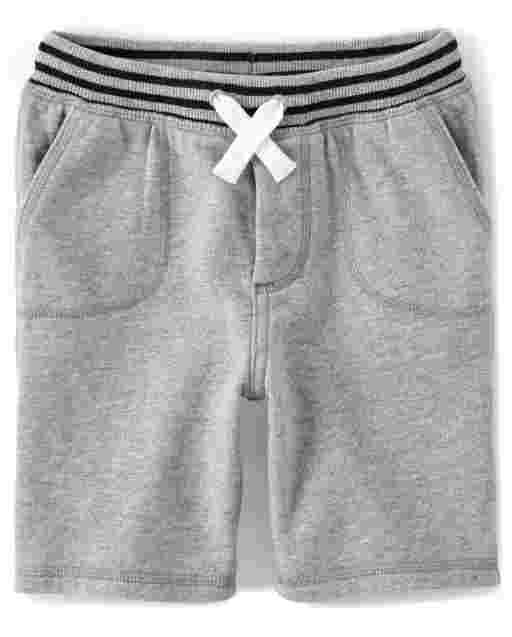 Boys French Terry Knit Pull On Shorts