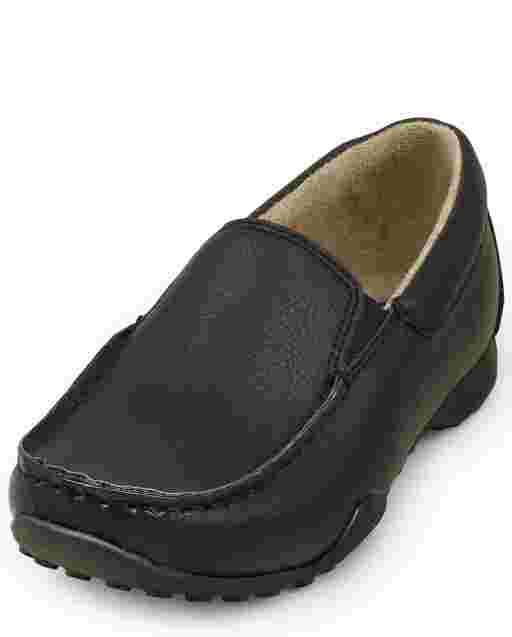 Boys Slip On Dress Shoes
